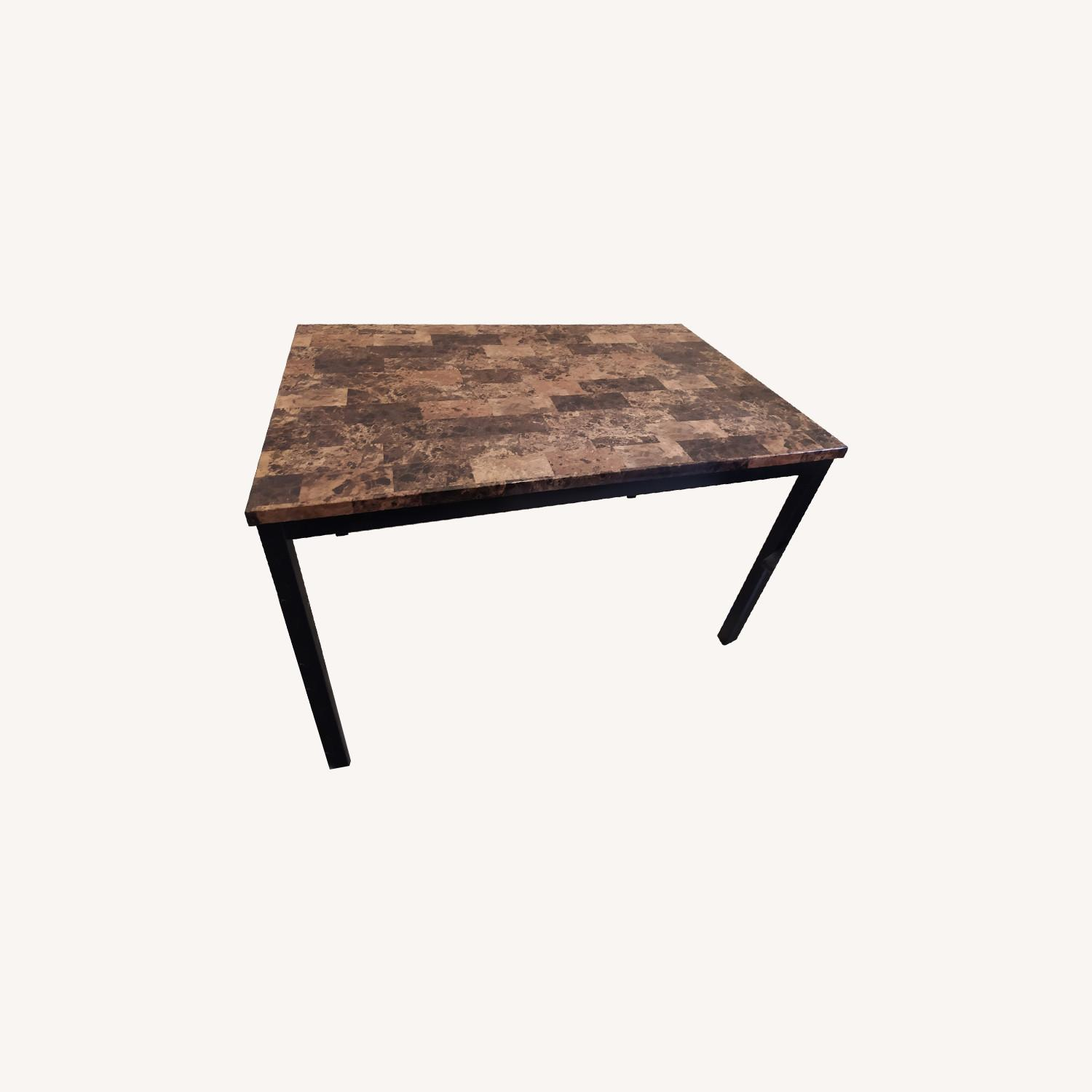 Dining Kitchen Table with Four Seats - image-0