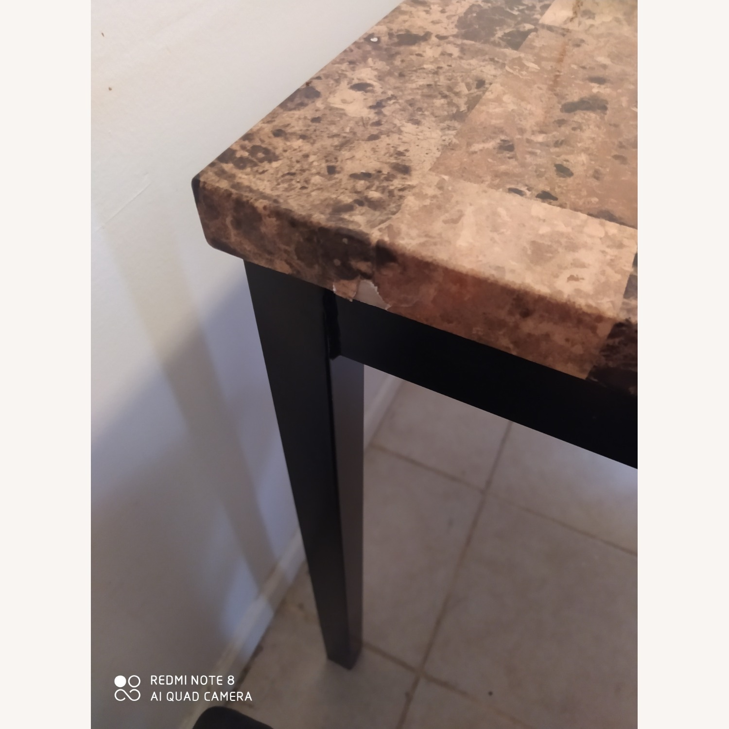Dining Kitchen Table with Four Seats - image-3