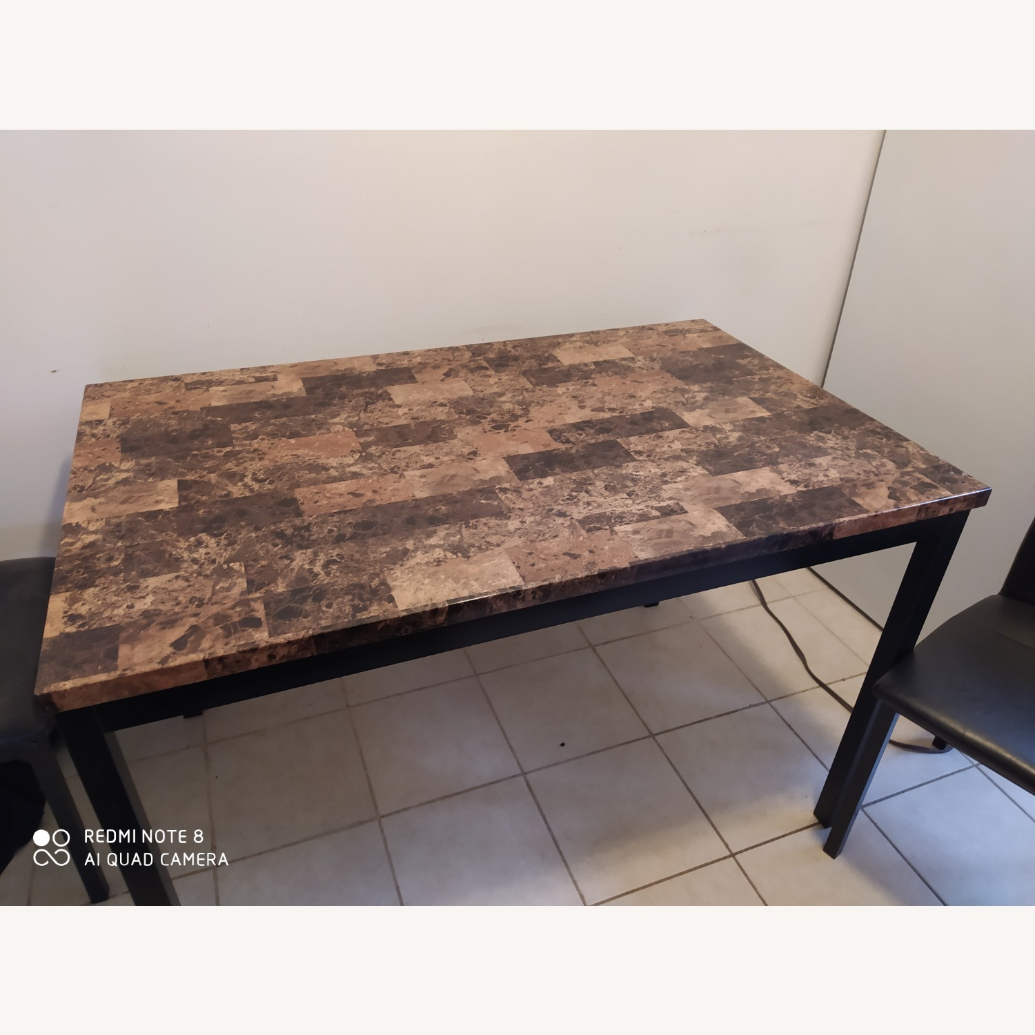 Dining Kitchen Table with Four Seats - image-2