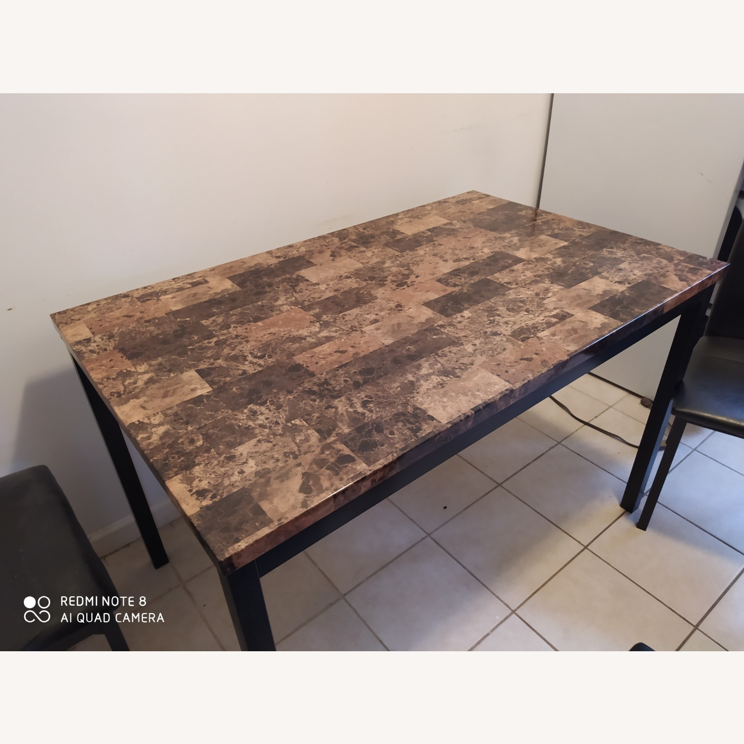 Dining Kitchen Table with Four Seats - image-1