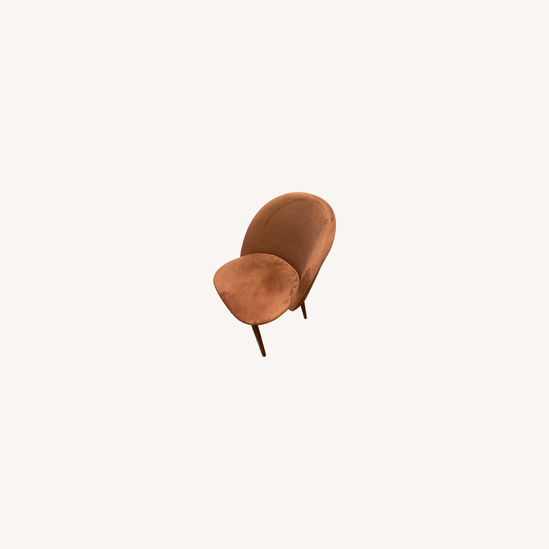 Wayfair Suede Dining Chair - image-0