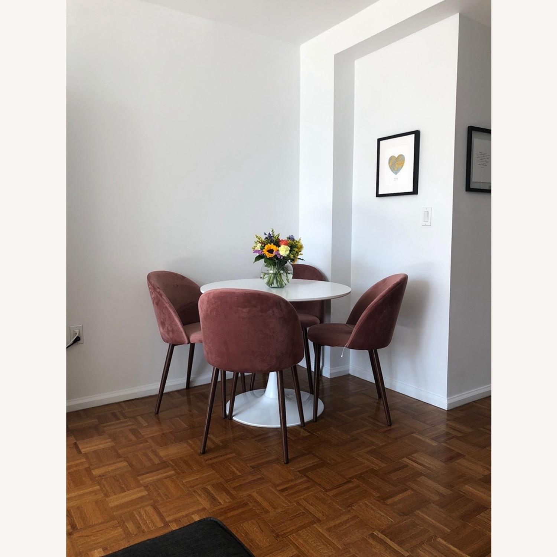 Wayfair Suede Dining Chair - image-1
