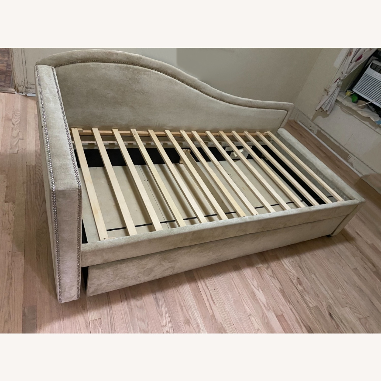 Bobs Furniture Natural Daybed - image-0