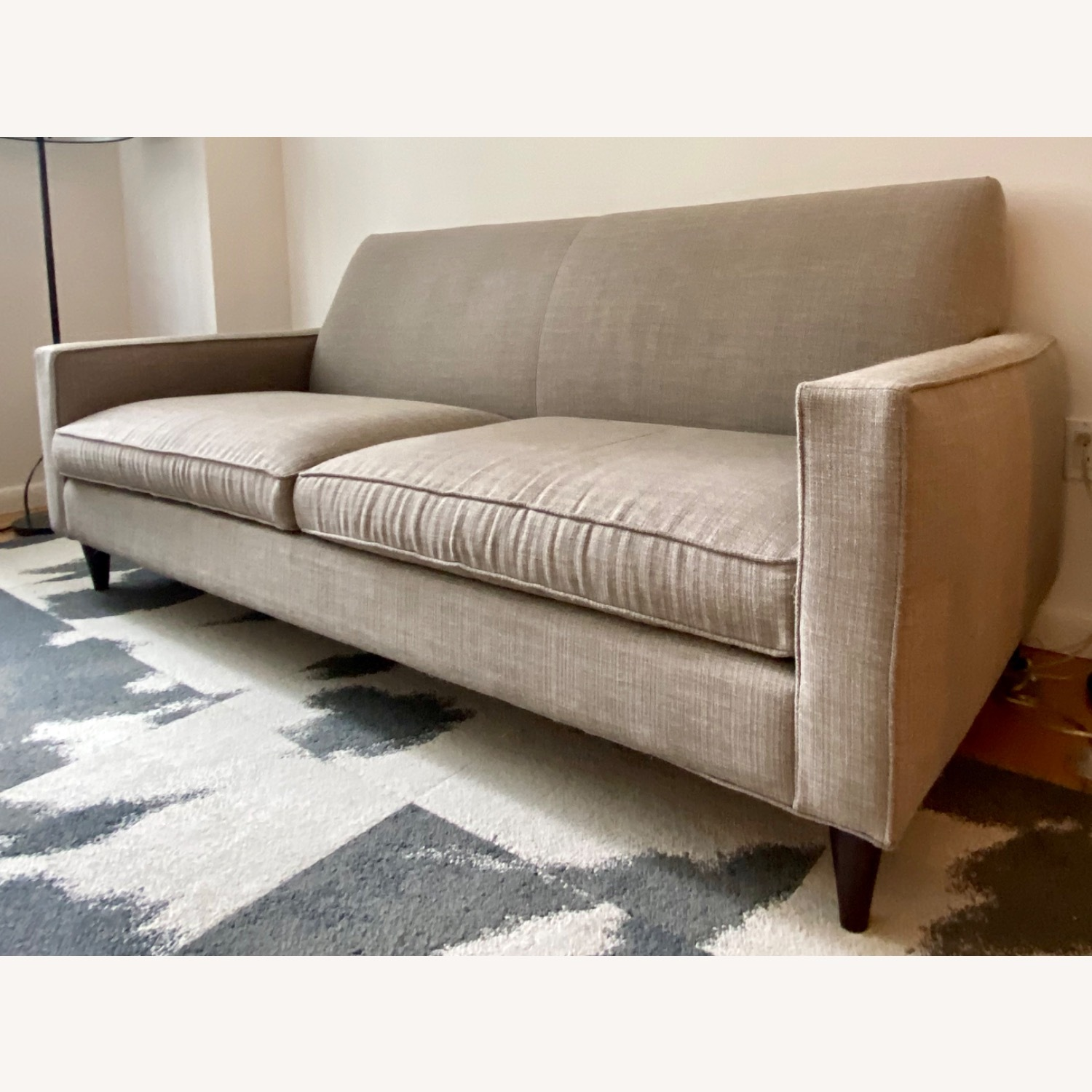 Room & Board Custom Grey Tweed Sofa - image-3