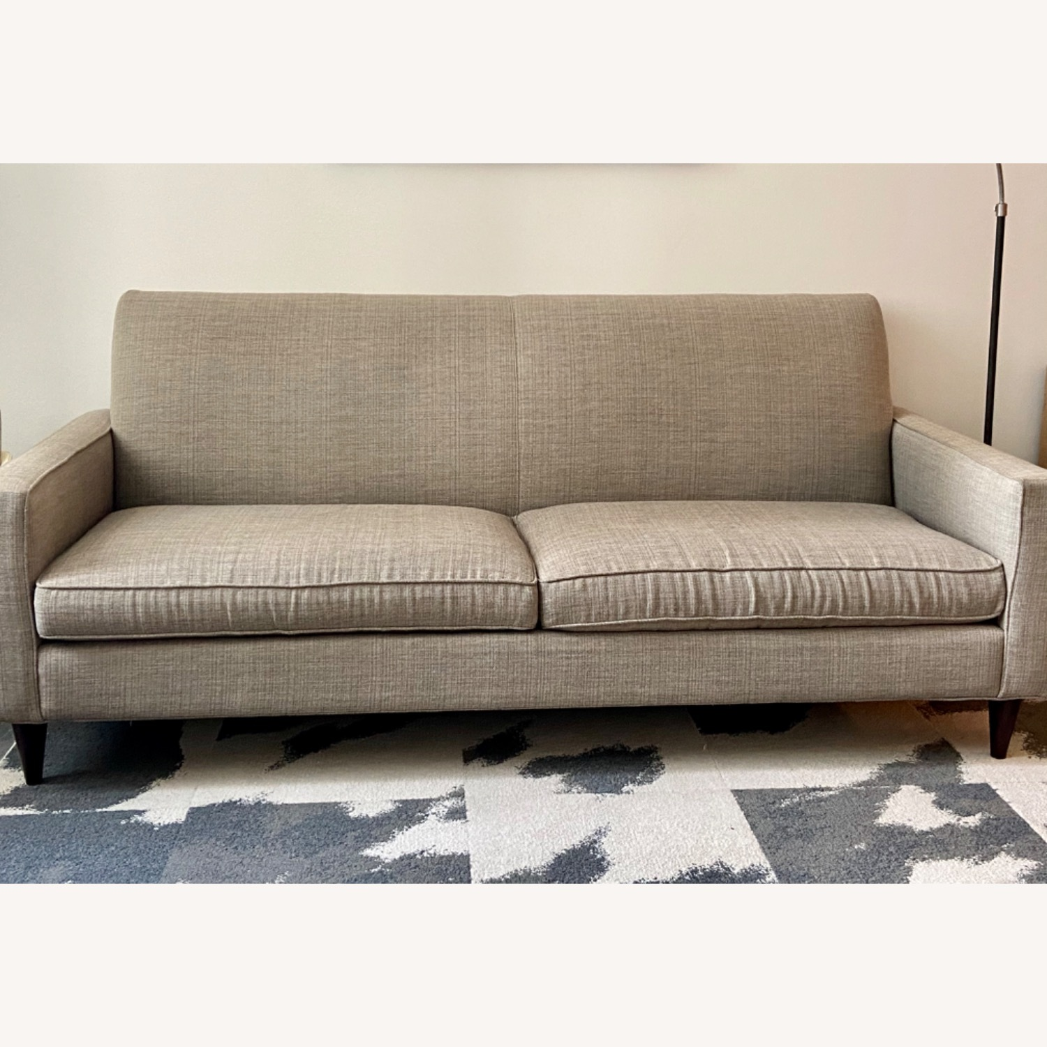 Room & Board Custom Grey Tweed Sofa - image-1