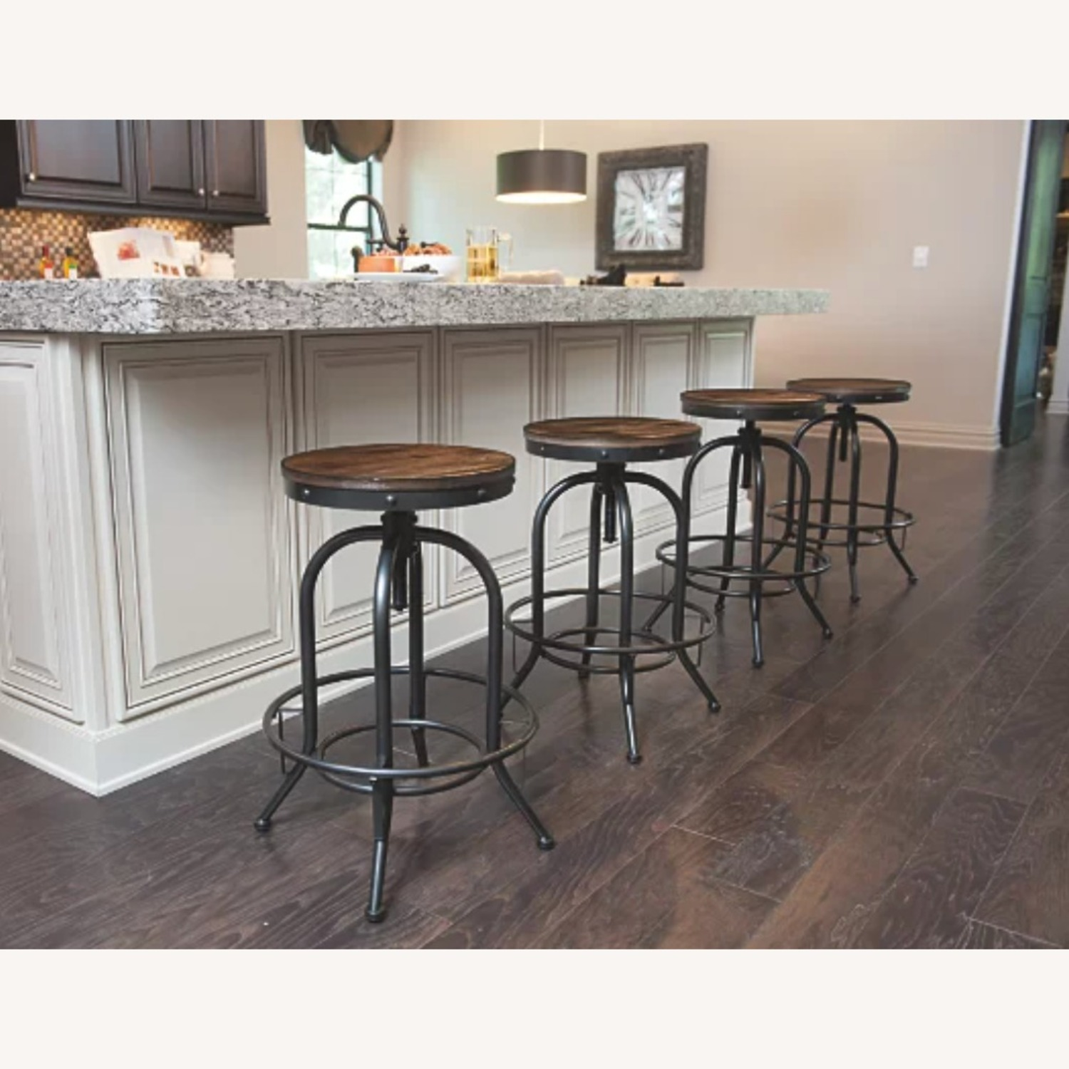 Ashley Furniture Dining Room Bar Table and Bar Stools (4) - image-4