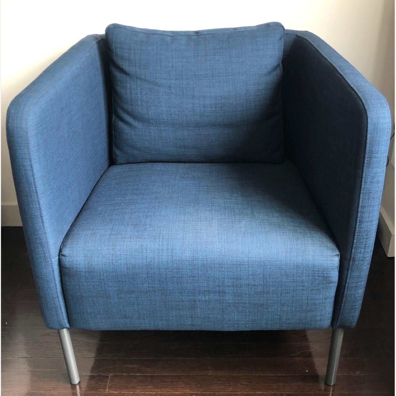 IKEA Ekero Armchair, Dark Blue - image-2
