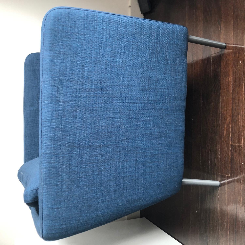 IKEA Ekero Armchair, Dark Blue - image-3