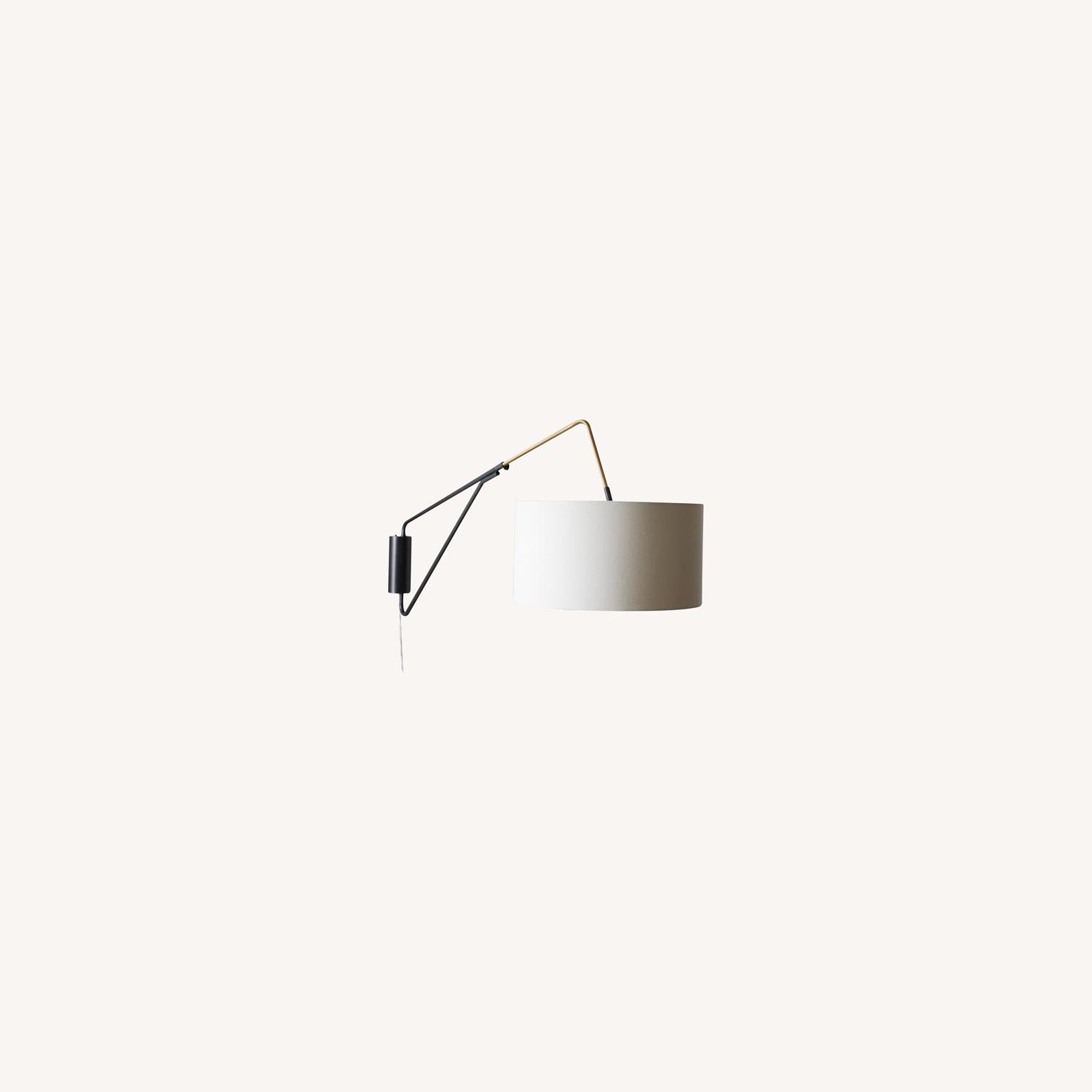 West Elm Mid-Century Overarching Wall Sconce - image-0