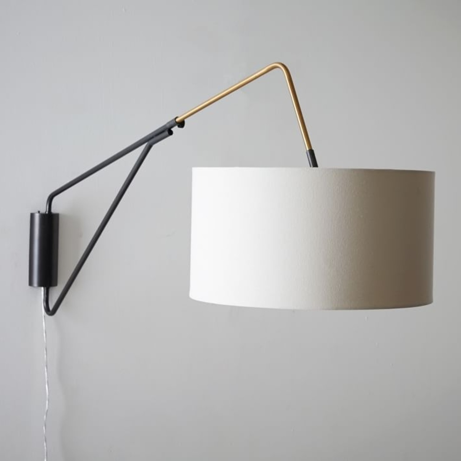 West Elm Mid-Century Overarching Wall Sconce - image-1