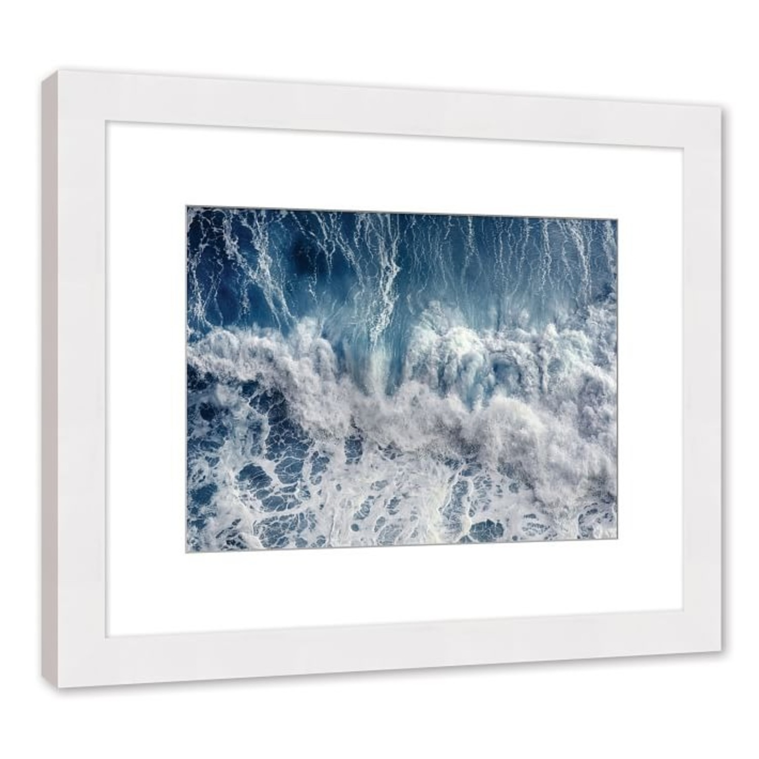 West Elm Blue Wave, Small, Multi - image-1