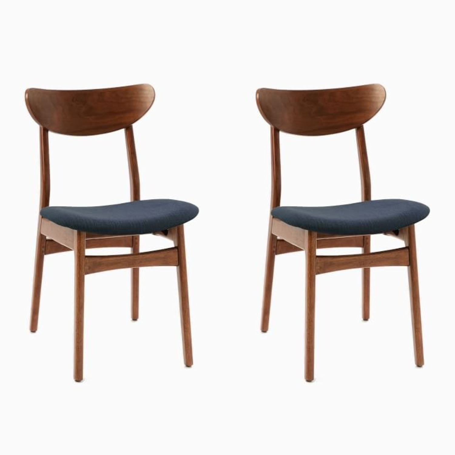 West Elm Classic Cafe Dining Chair (Set of 2) - image-3
