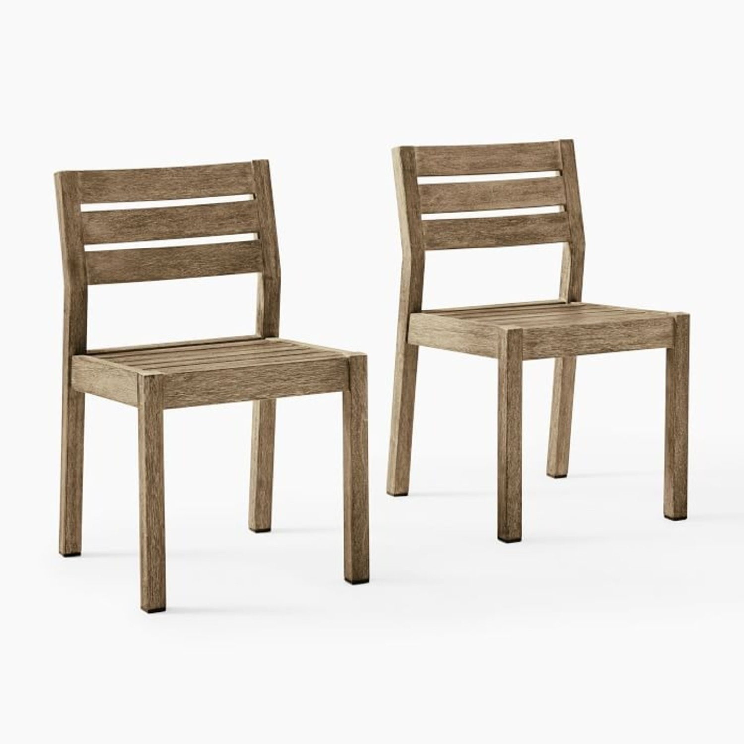 West Elm Portside Outdoor Dining Chair, Set of 2 - image-3