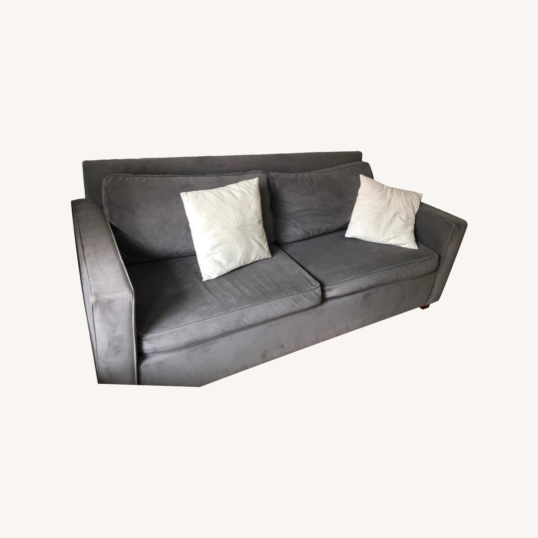 West Elm Henry Sleeper Sofa Queen - image-0