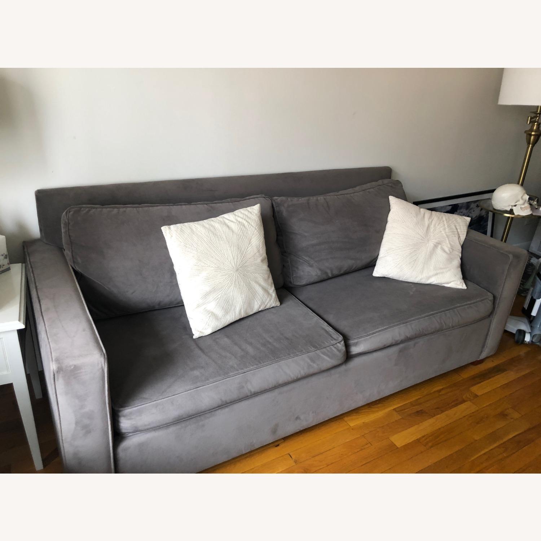 West Elm Henry Sleeper Sofa Queen - image-1