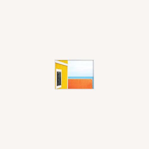 "Used West Elm Horizons II, 40""x30"", White Wood Frame for sale on AptDeco"