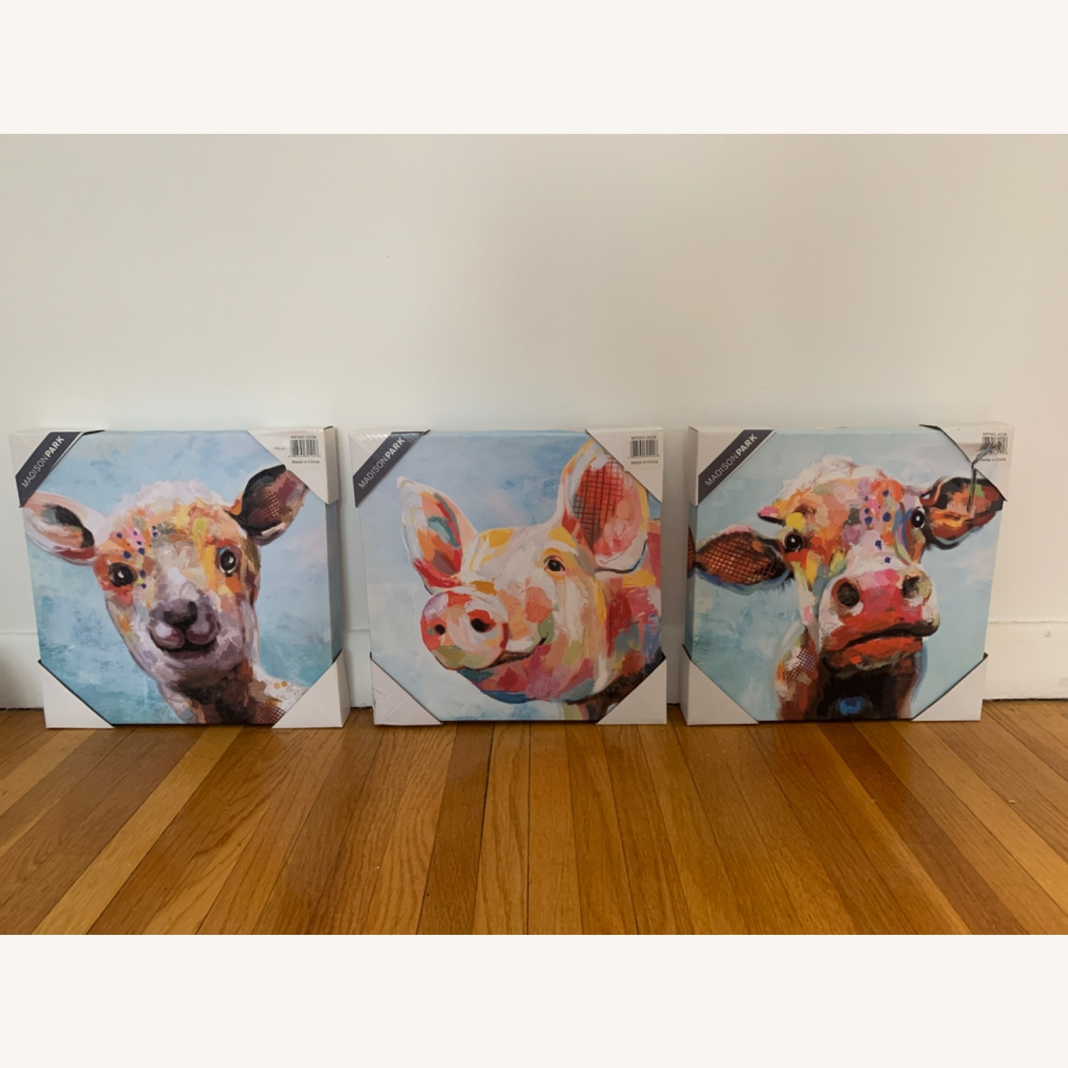 Madison Park Farm Animal Canvas - image-3