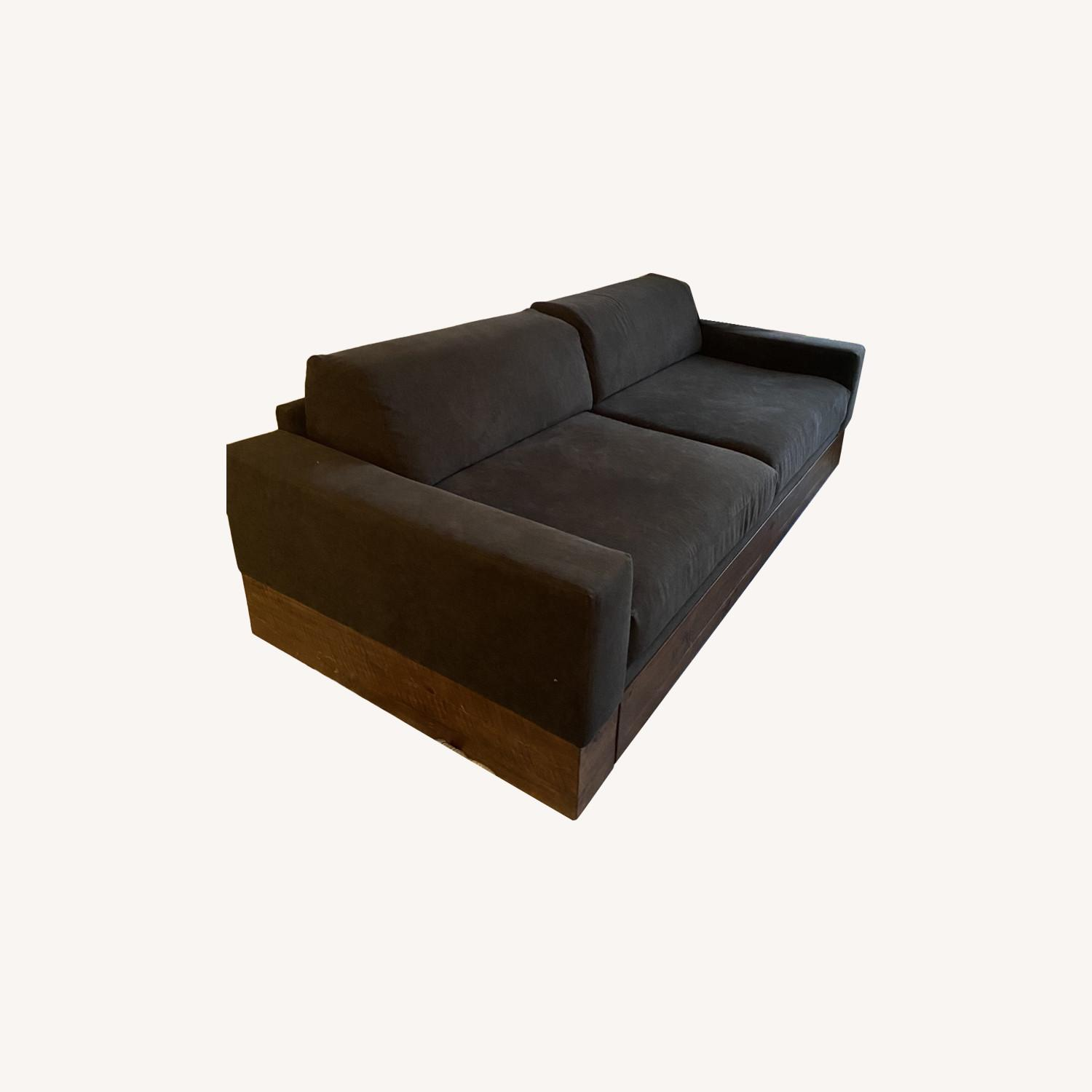 West Elm Trundle Sofa - image-0
