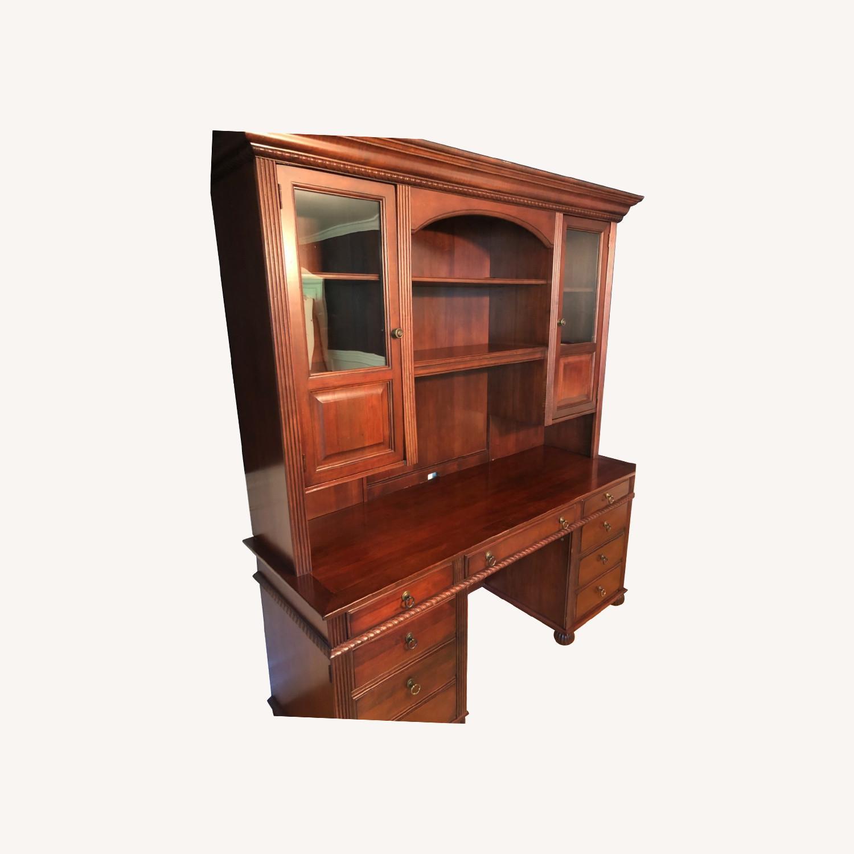 Sligh Solid Wood Hutch - image-0
