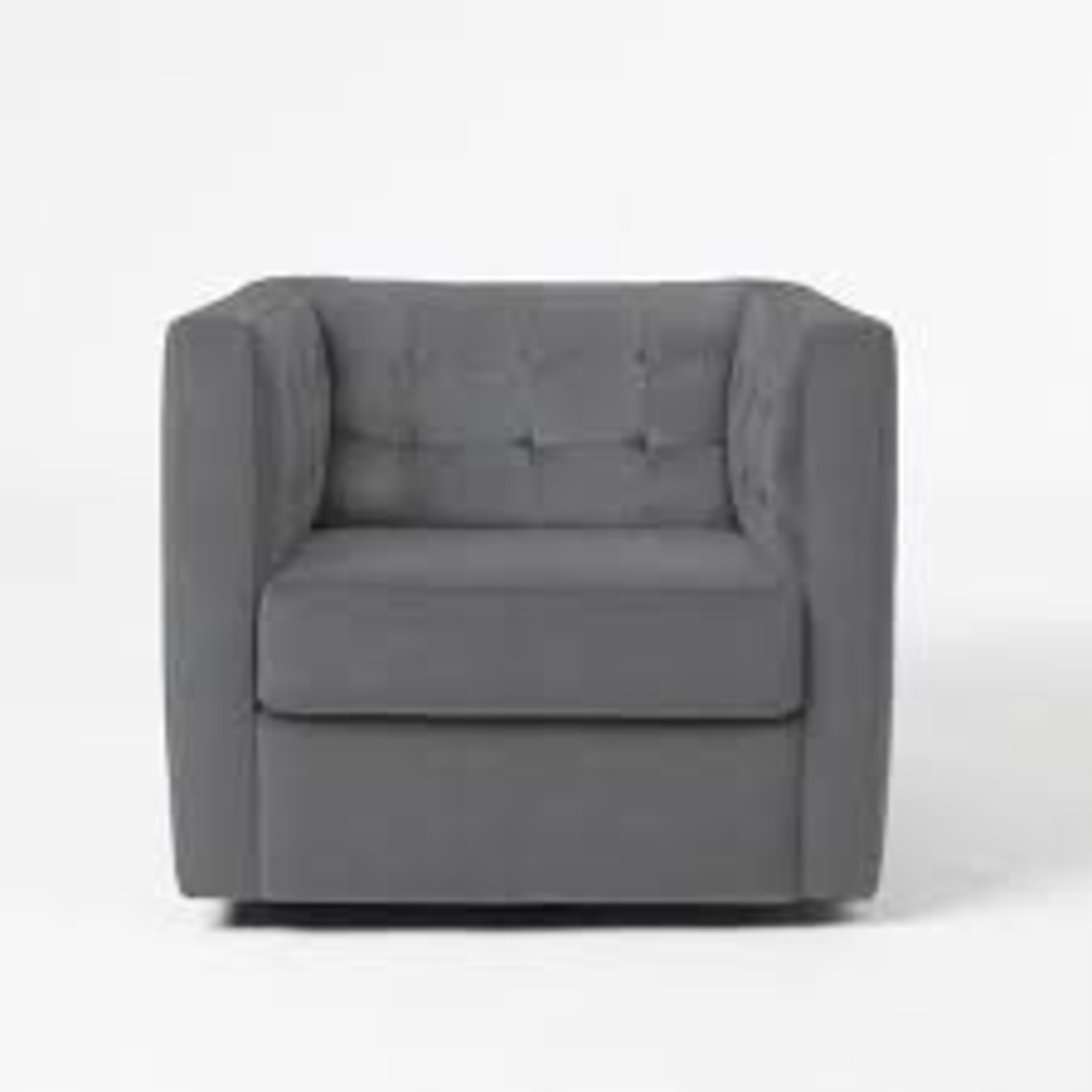 West Elm Rochester Swivel Chair - image-1