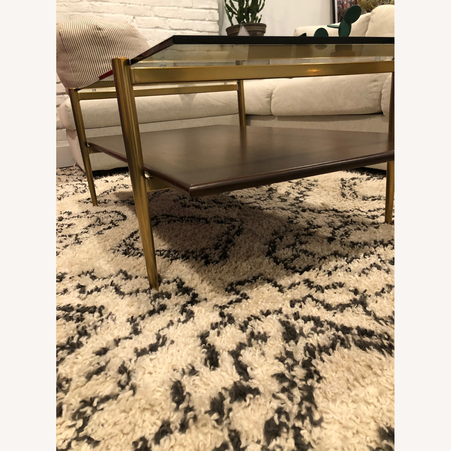 West Elm Mid-Century Art Display Coffee Table - image-5
