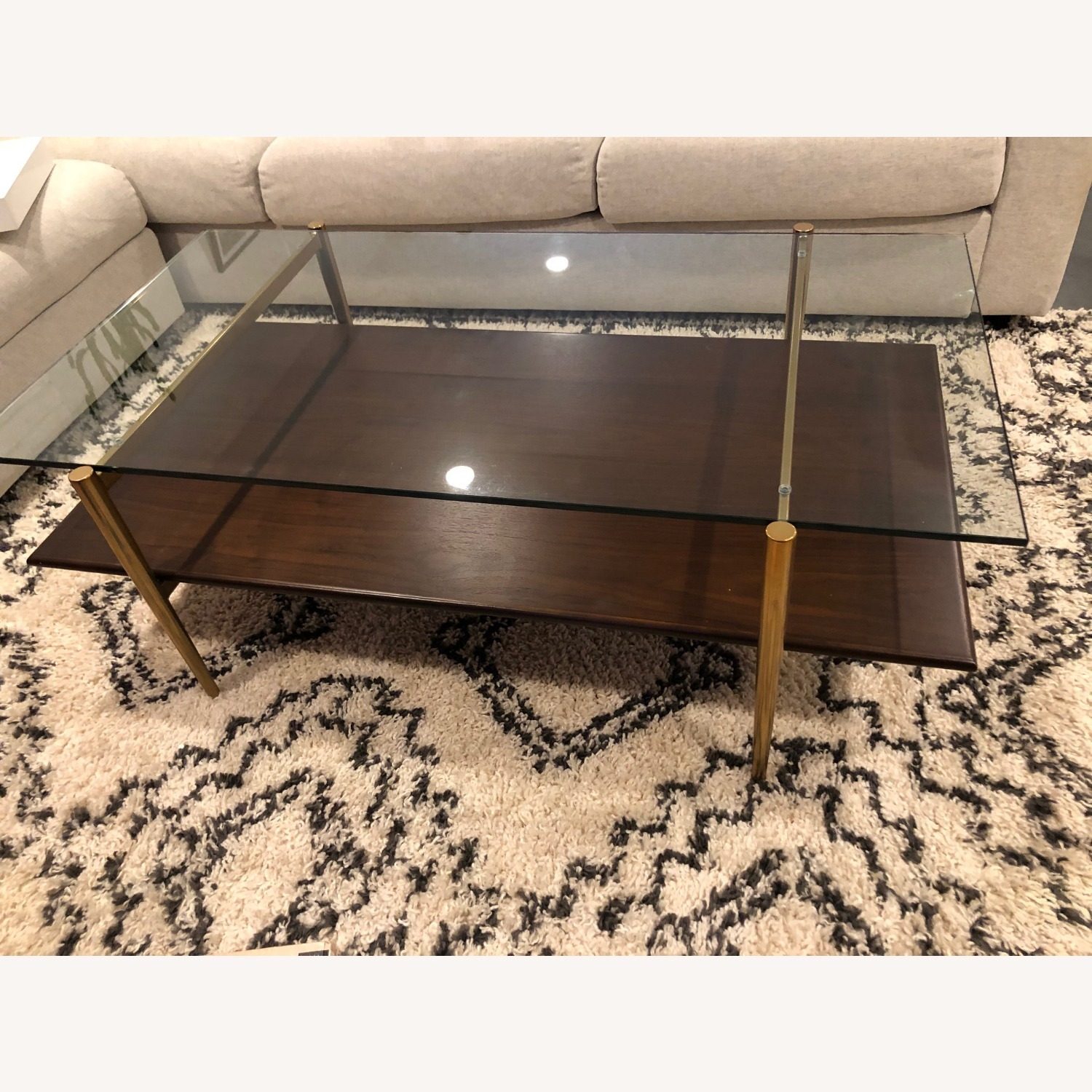 West Elm Mid-Century Art Display Coffee Table - image-3