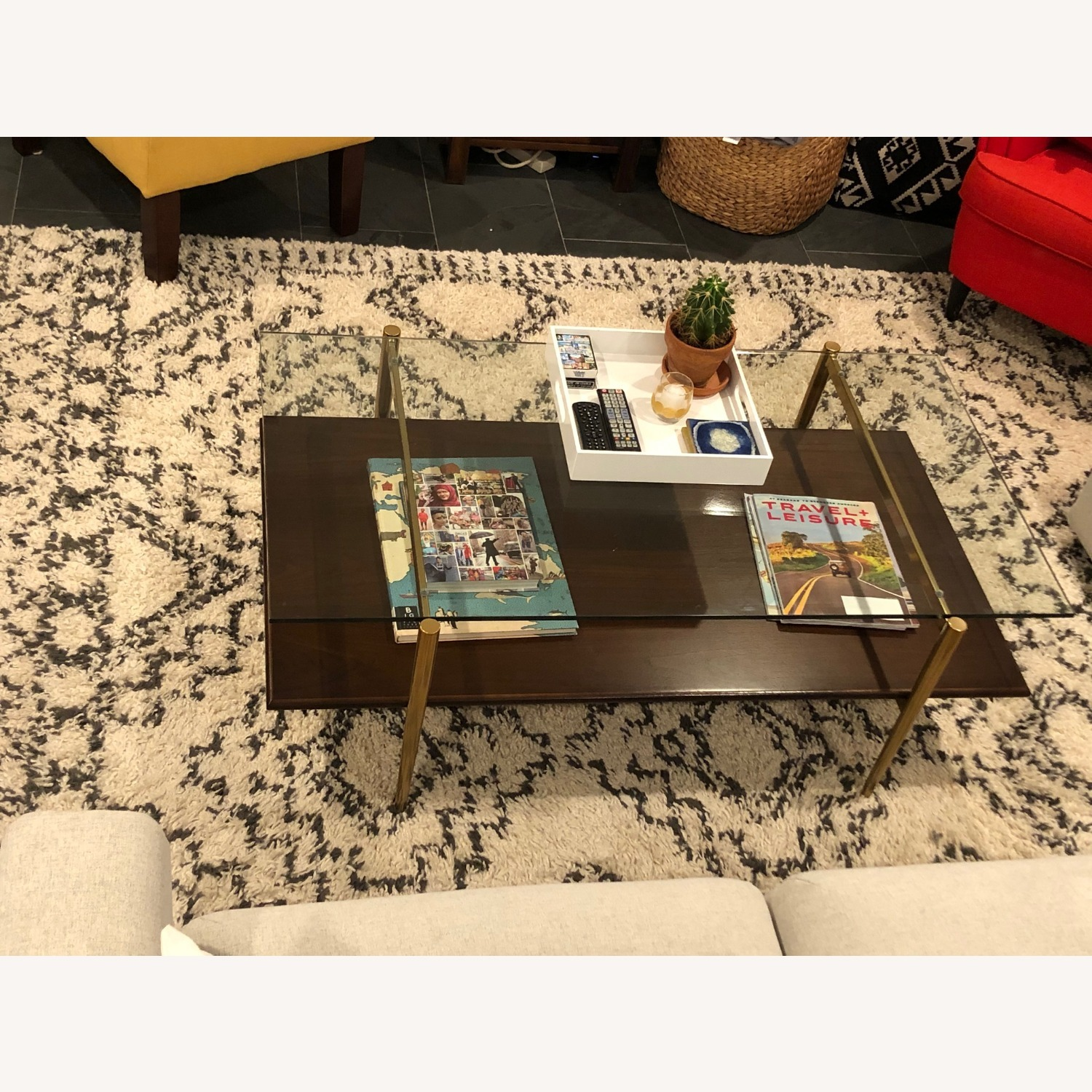 West Elm Mid-Century Art Display Coffee Table - image-2