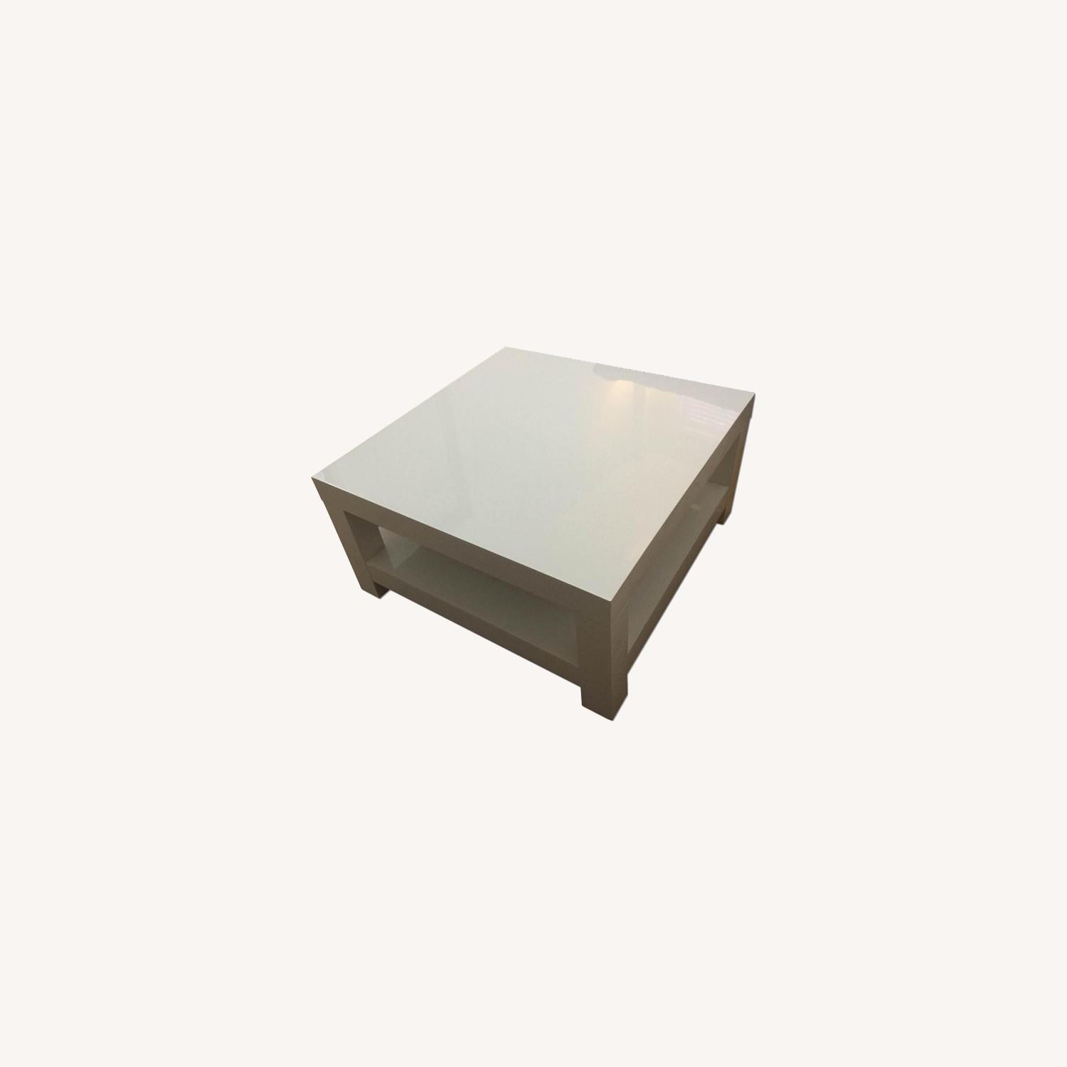 West Elm Parsons Coffee Table - image-0