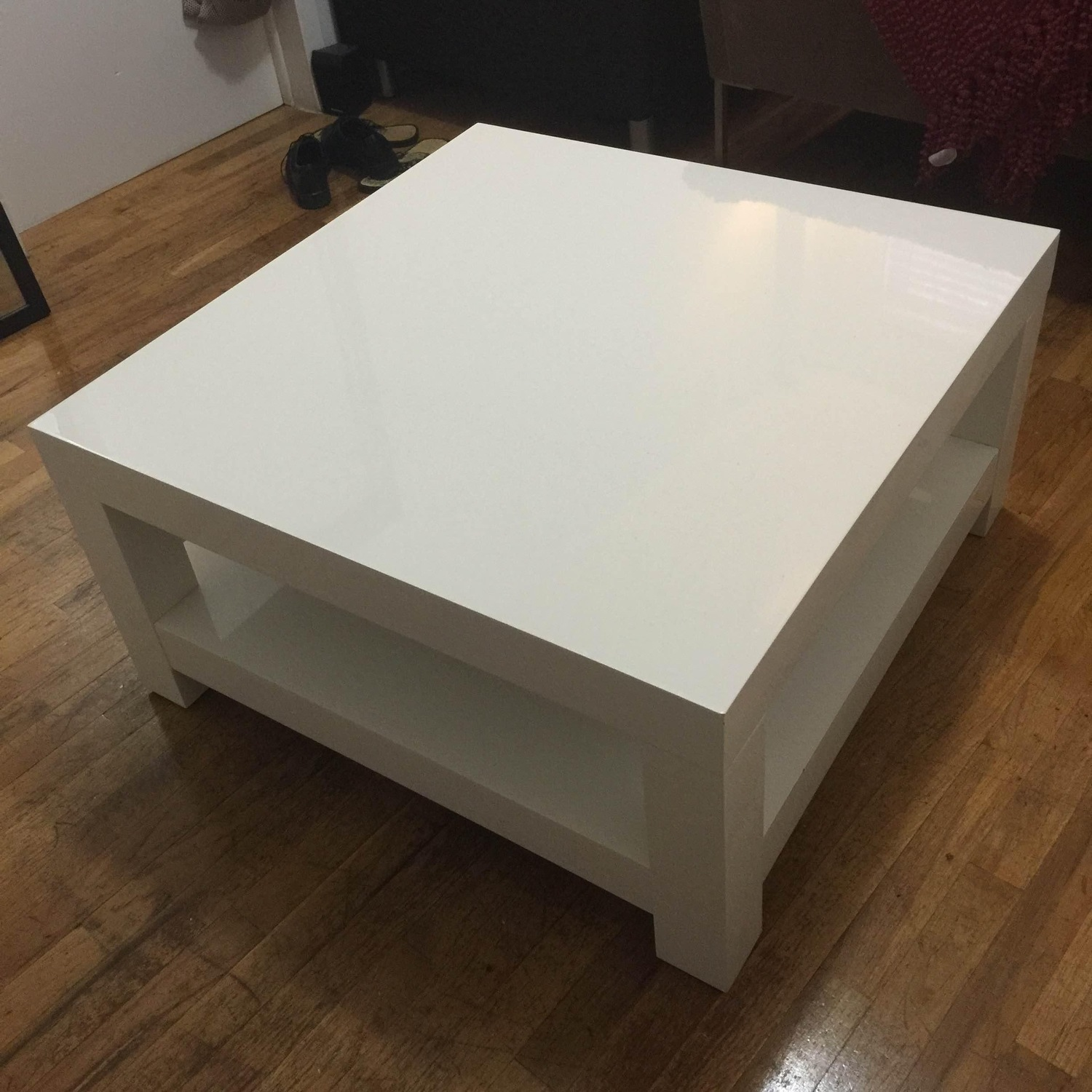 West Elm Parsons Coffee Table - image-2