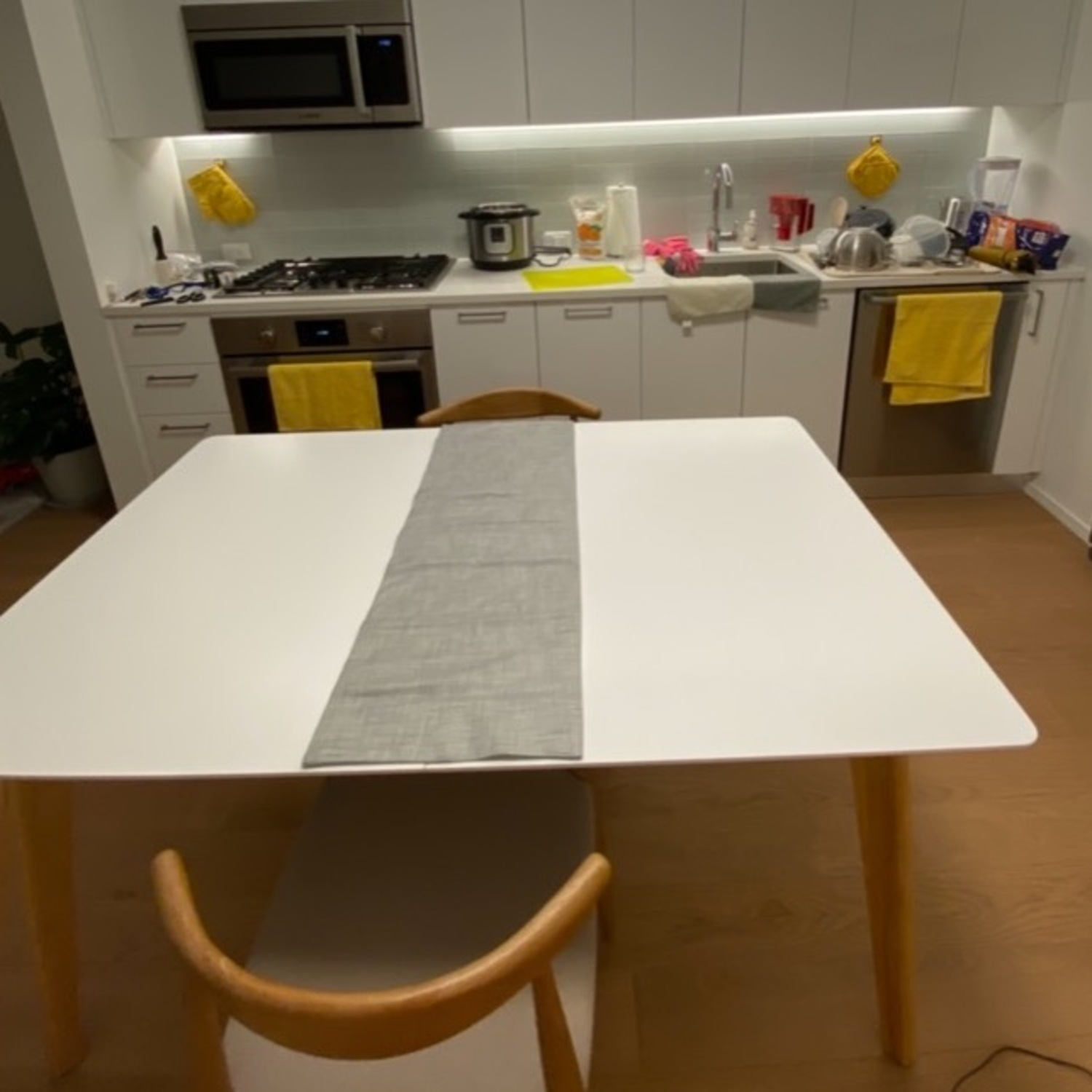 Wayfair Charming White All Modern Extendable Dining Table - image-4