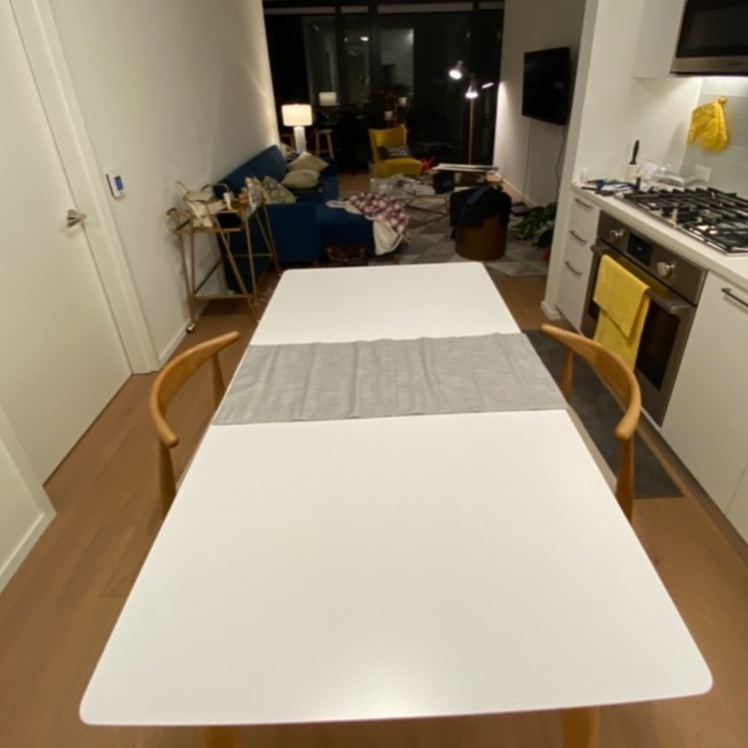 Wayfair Charming White All Modern Extendable Dining Table - image-5