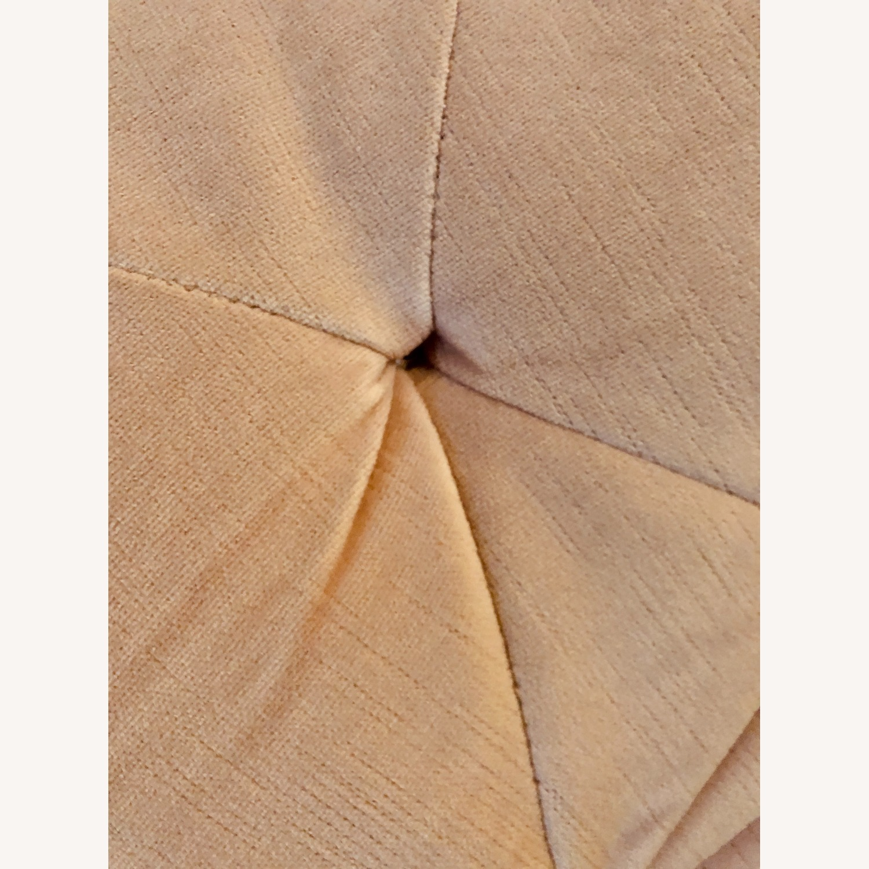 Pottery Barn Adeline Sofa Blush Velvet - image-4