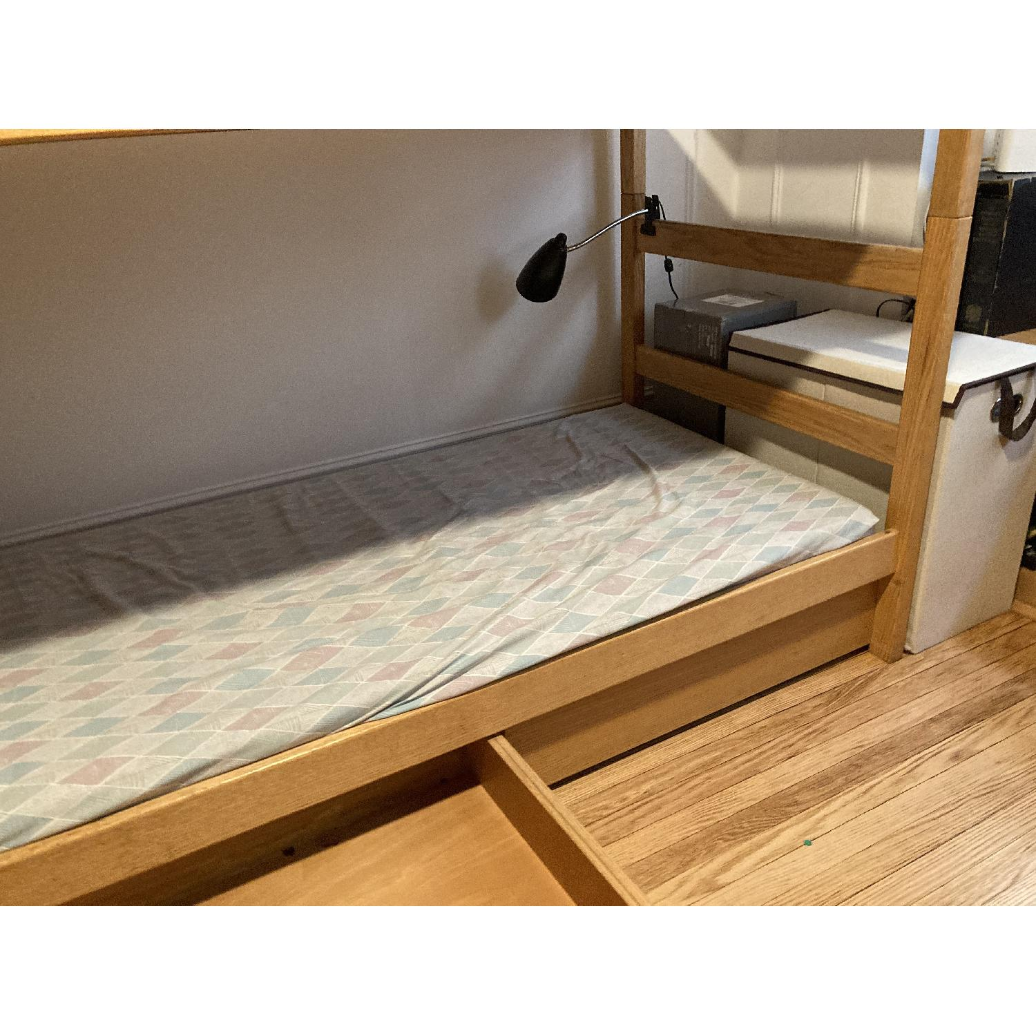 Pottery Barn Solid Wood Bunk Beds - image-1