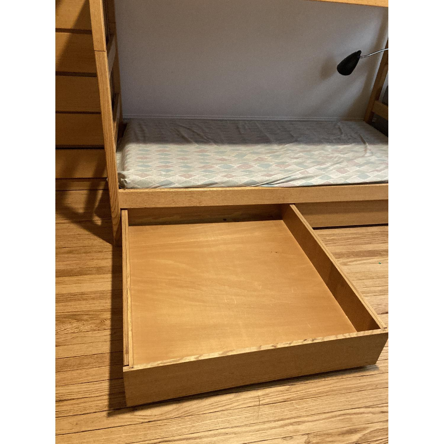 Pottery Barn Solid Wood Bunk Beds - image-2