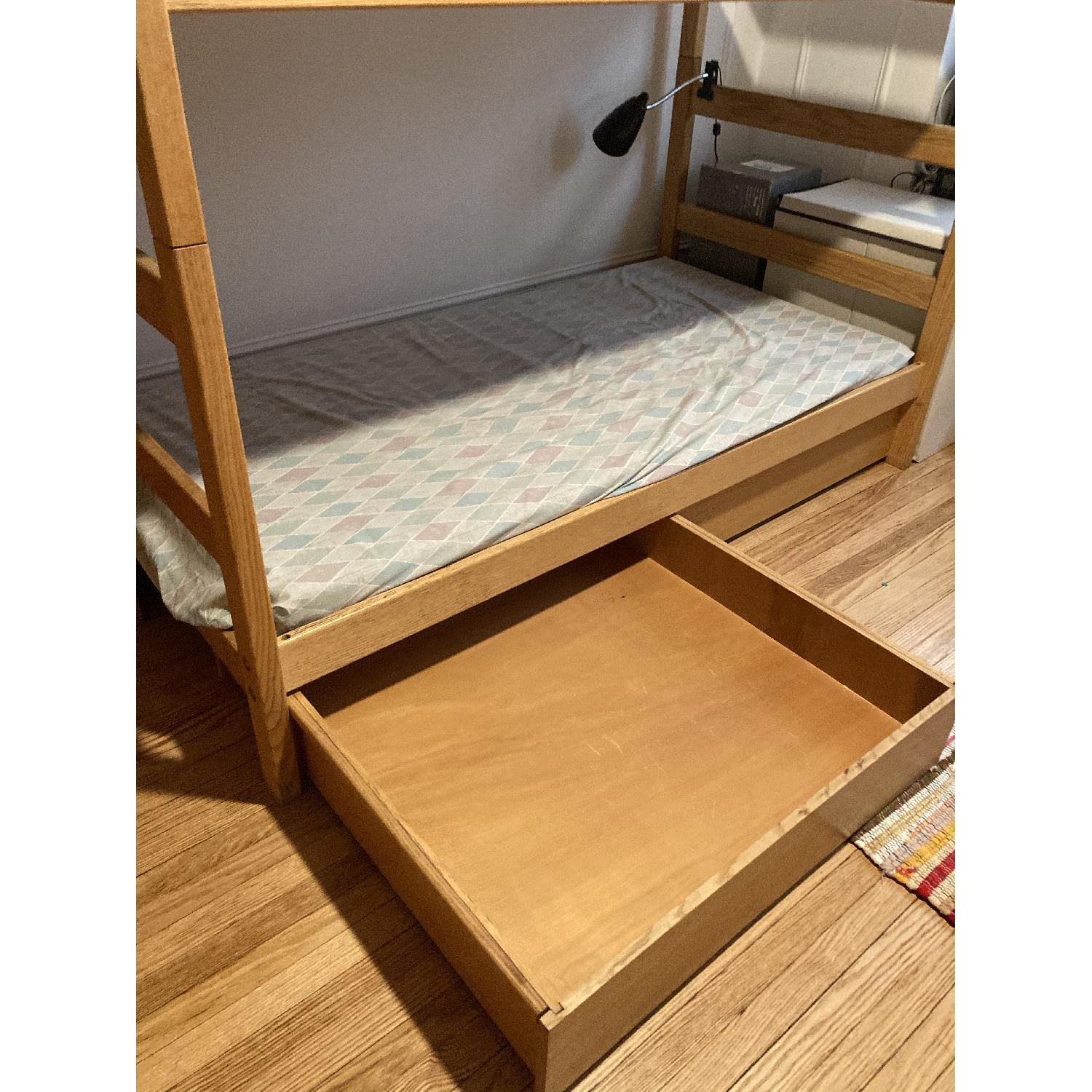 Pottery Barn Solid Wood Bunk Beds - image-3