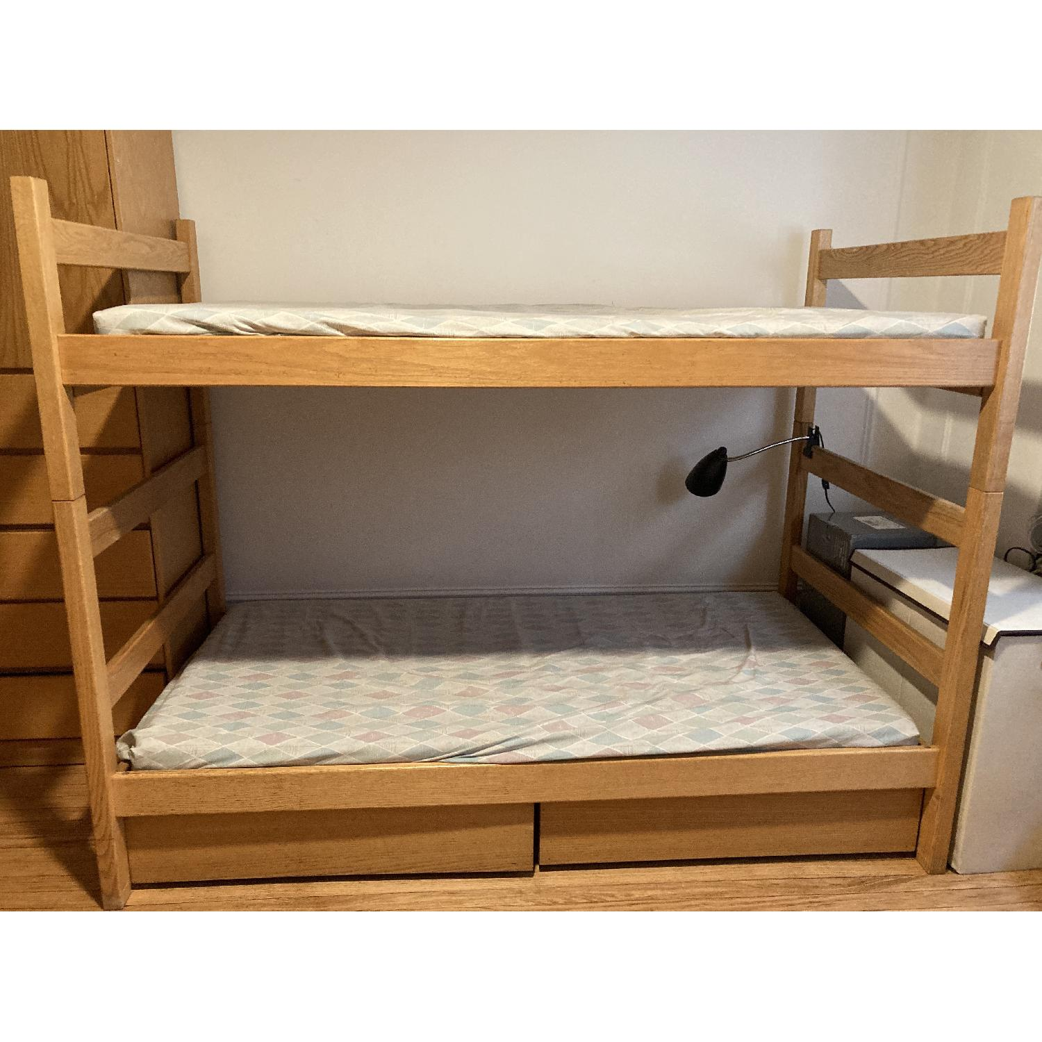 Pottery Barn Solid Wood Bunk Beds - image-0