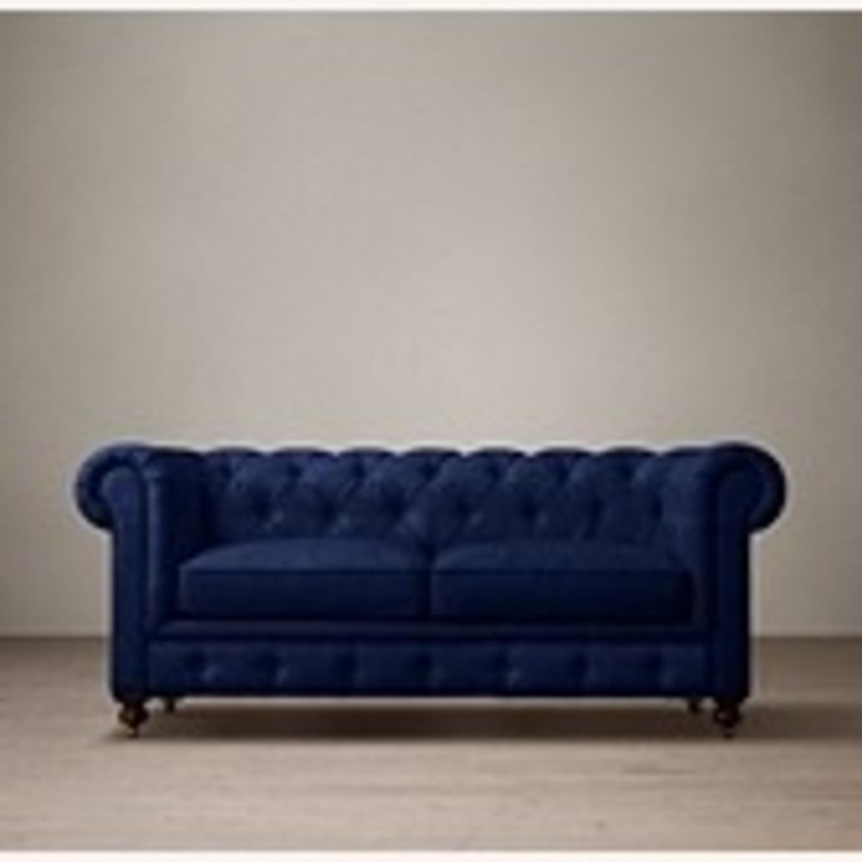 Restoration Hardware Kensington Upholstered Sofa - image-1