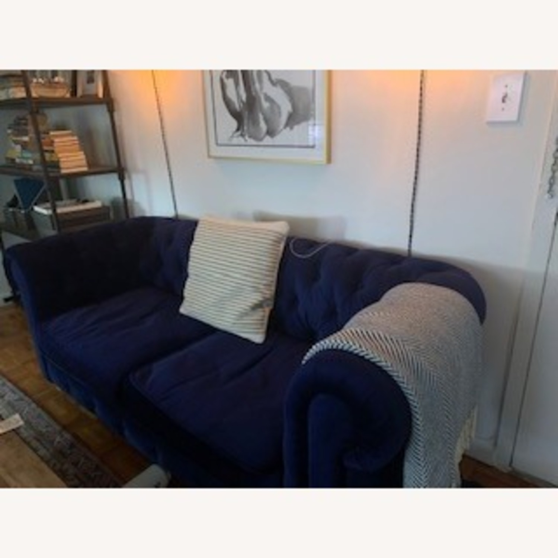 Restoration Hardware Kensington Upholstered Sofa - image-2