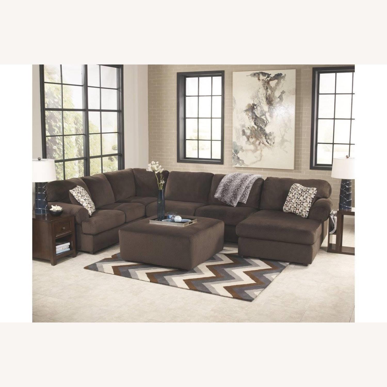 Ashley Furniture Chocolate Setional - image-1