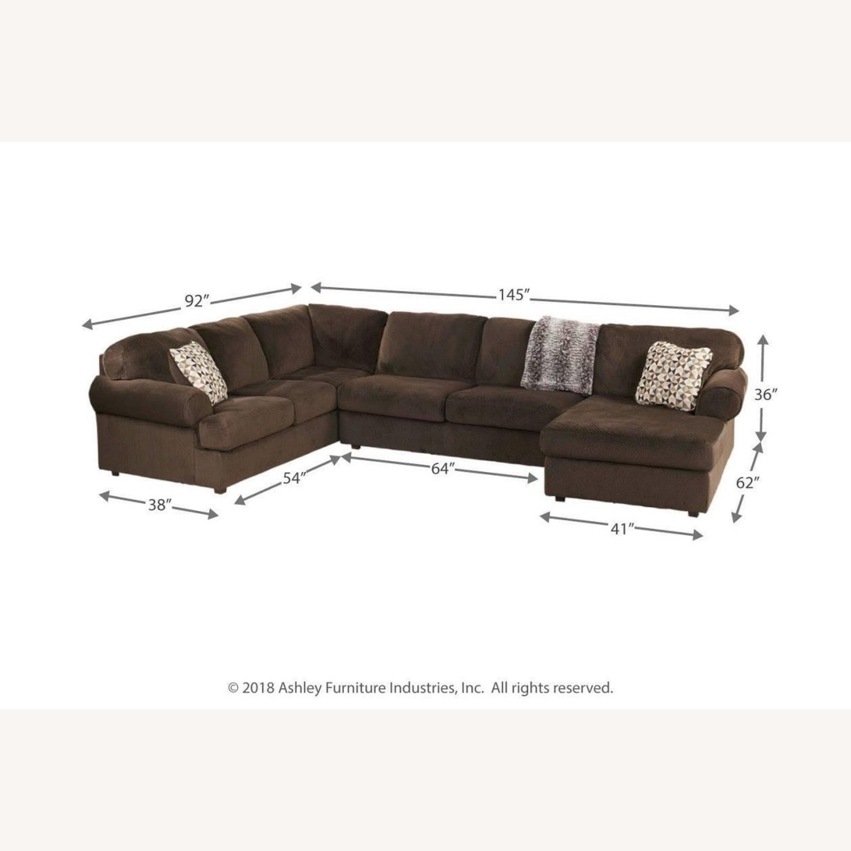 Ashley Furniture Chocolate Setional - image-2
