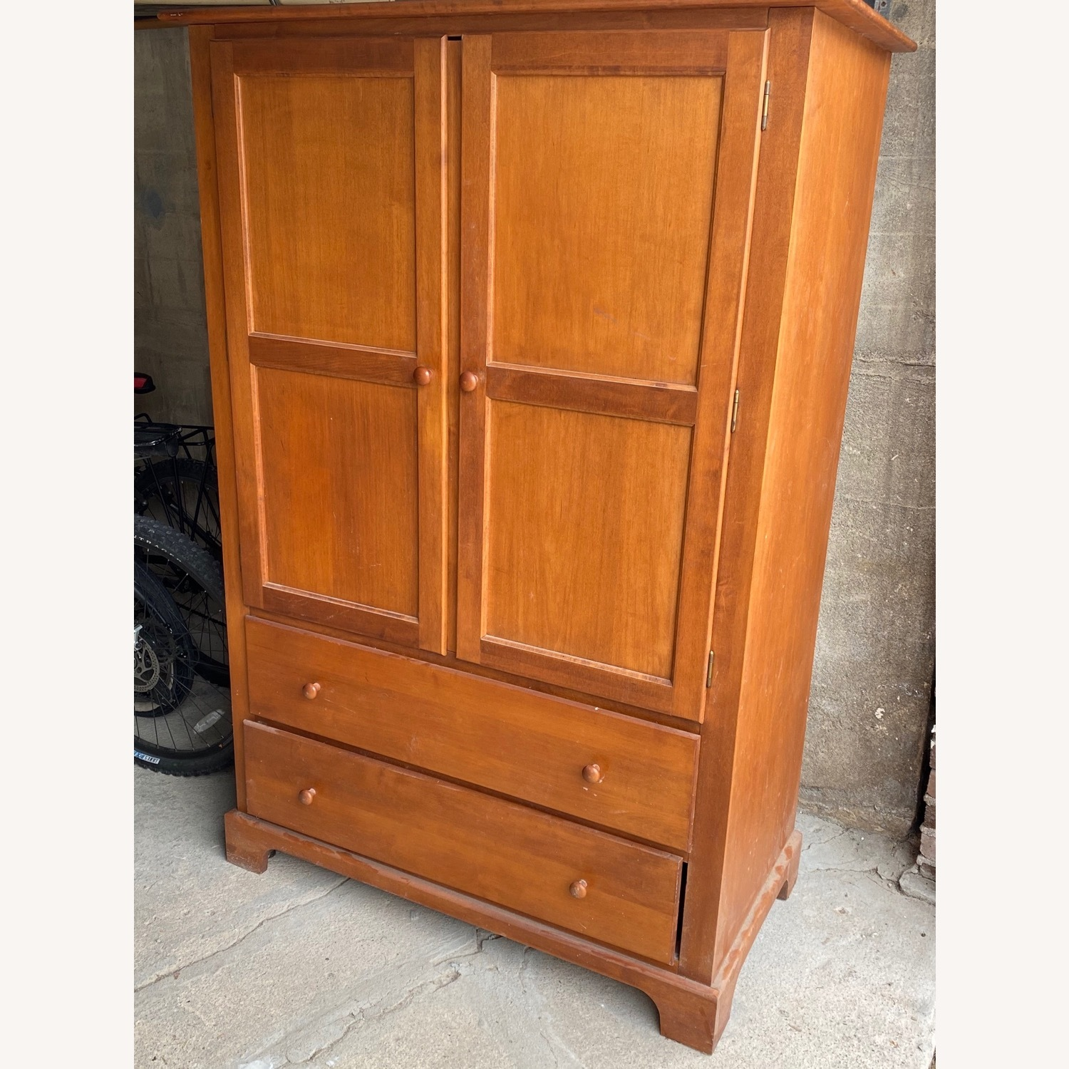 Macy's Canadian Maple Armoire - image-3