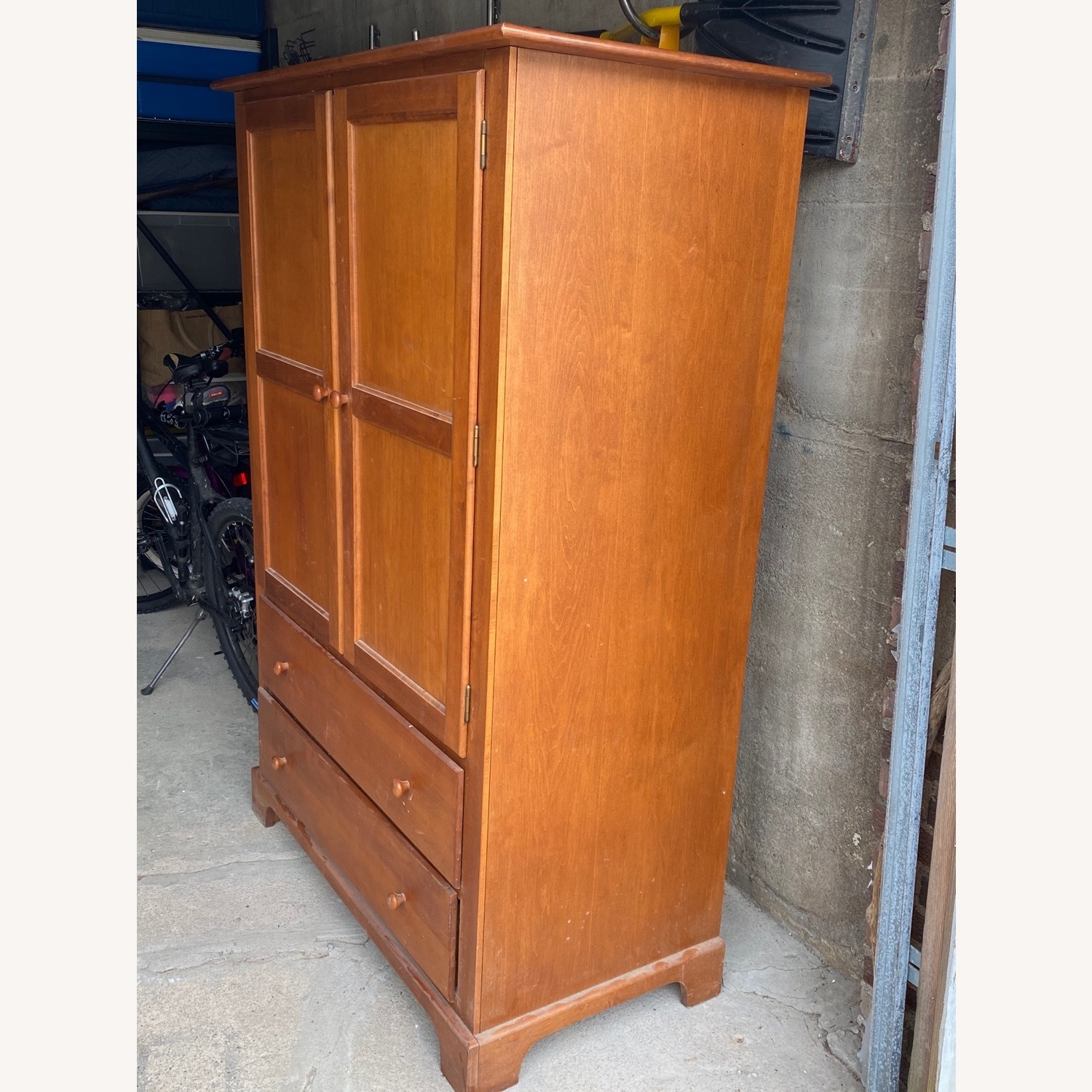 Macy's Canadian Maple Armoire - image-2