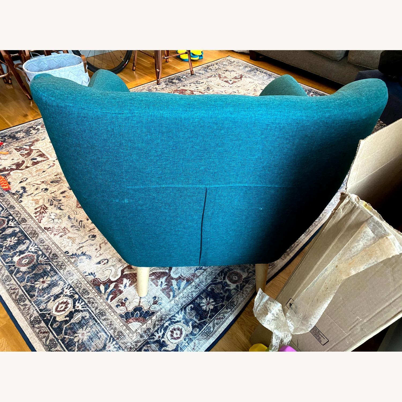 Wayfair Teal Accent Chair - image-5