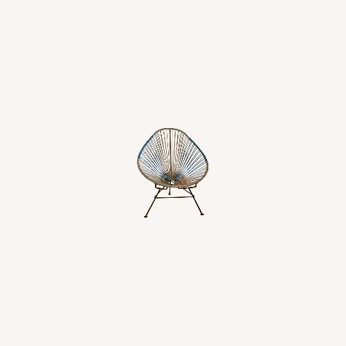 Used Original Bicolor Acapulco Chair for sale on AptDeco