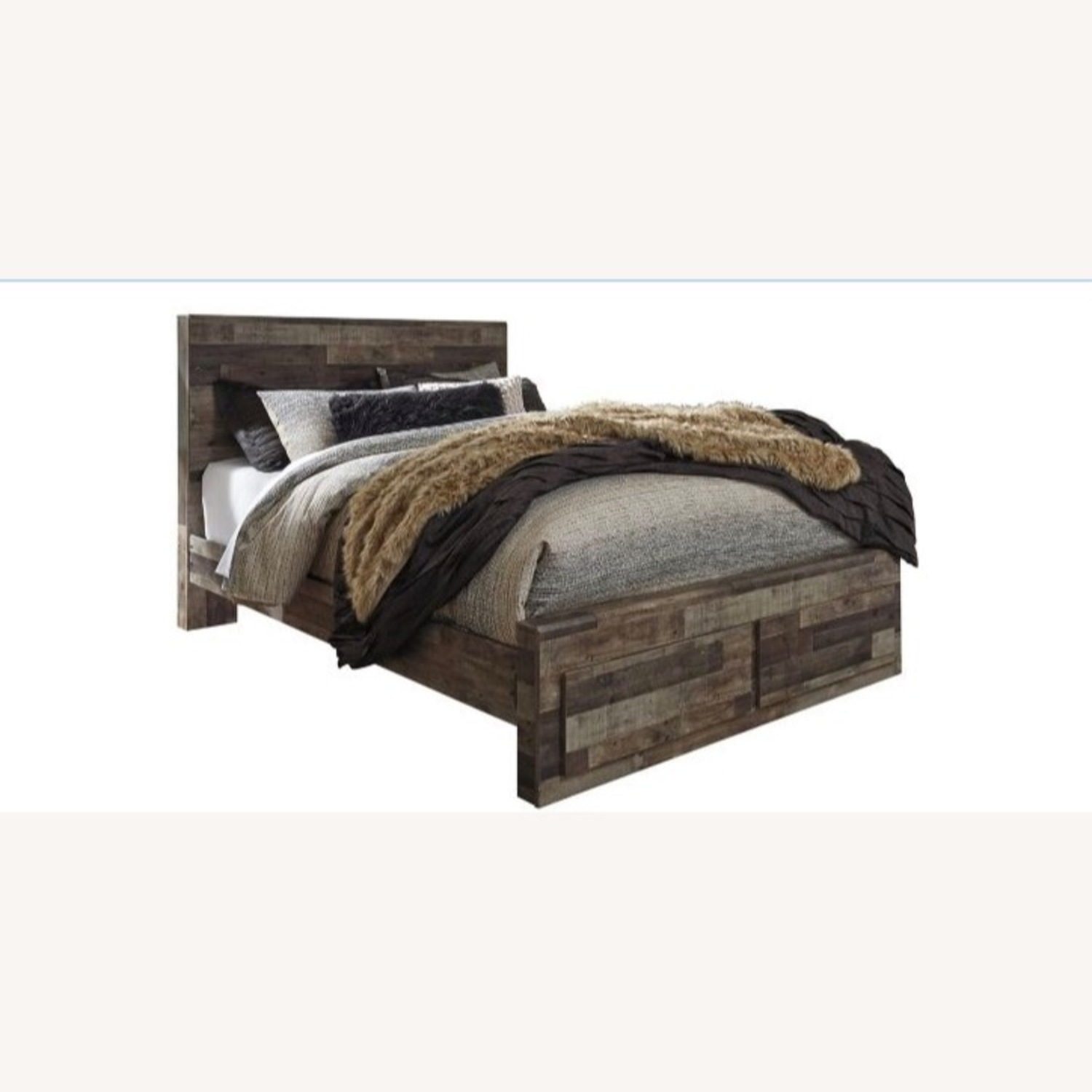 Raymour & Flanigan Ainsworth Queen Size Bed - image-1