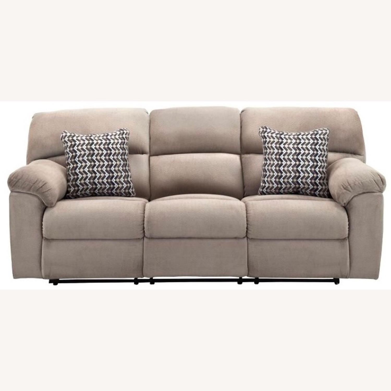 Raymour & Flanigan Amador Reclining Sofa - image-1