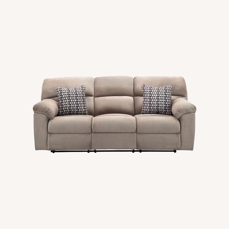 Raymour & Flanigan Amador Reclining Sofa - image-0
