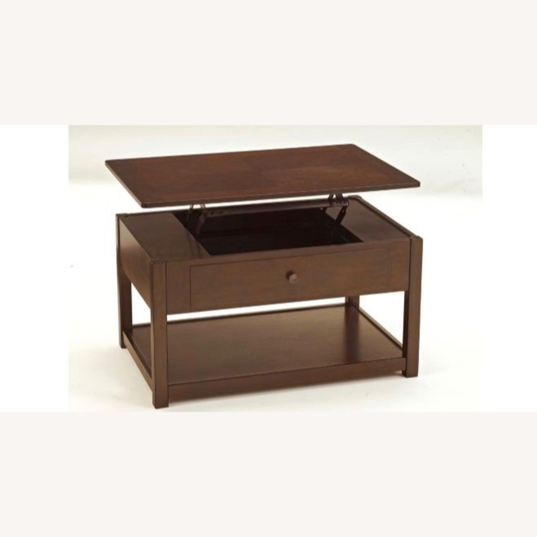 Raymour & Flanigan Lift Top Coffee Table - image-4