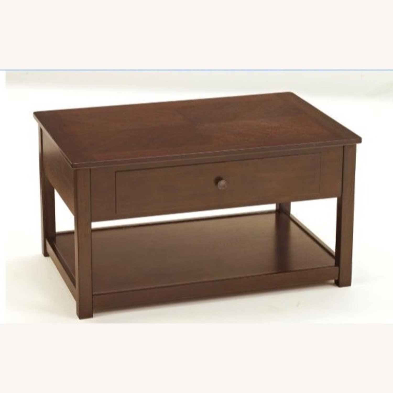 Raymour & Flanigan Lift Top Coffee Table - image-3