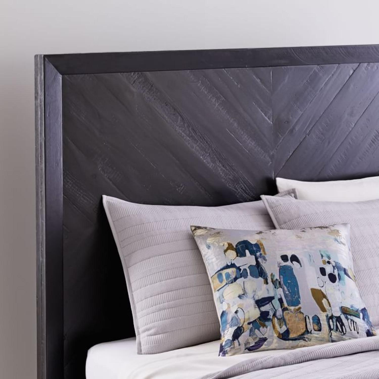 West Elm Alexa Bed, Queen, Black - image-3